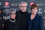 Concha Velasco, Jose Sacristan and Mercedes Sampietro attends red carpet of Goya Cinema Awards 2018 at Madrid Marriott Auditorium in Madrid , Spain. February 03, 2018. (ALTERPHOTOS/Borja B.Hojas)