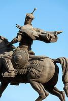 Amir Timur-Denkmal in Taschkent, Usbekistan, Asien<br /> Amur Timur monument, Tashkent, Uzbekistan, Asia