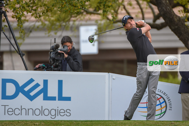 Kevin Kisner (USA) watches his tee shot on 1 during day 4 of the WGC Dell Match Play, at the Austin Country Club, Austin, Texas, USA. 3/30/2019.<br /> Picture: Golffile   Ken Murray<br /> <br /> <br /> All photo usage must carry mandatory copyright credit (© Golffile   Ken Murray)