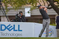 Kevin Kisner (USA) watches his tee shot on 1 during day 4 of the WGC Dell Match Play, at the Austin Country Club, Austin, Texas, USA. 3/30/2019.<br /> Picture: Golffile | Ken Murray<br /> <br /> <br /> All photo usage must carry mandatory copyright credit (© Golffile | Ken Murray)