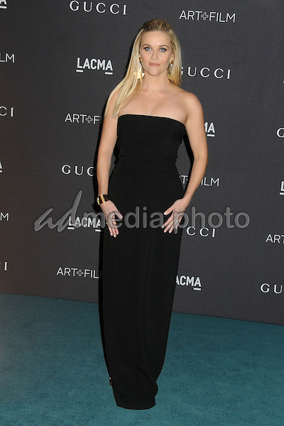 7 November 2015 - Los Angeles, California - Reese Witherspoon. LACMA 2015 Art+Film Gala held at LACMA. Photo Credit: Byron Purvis/AdMedia