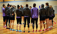 17.08.2017 Silver Ferns during the Silver Ferns training in Auckland. Mandatory Photo Credit ©Michael Bradley.
