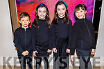Ready to sing their hearts out for the Kerry School of Music concert at the Rose Hotel on Sunday.<br /> L to r: Daniel Michael, Isla and Faye Fitzmaurice, Nena Lane.