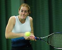 10-3-06, Netherlands, tennis, Rotterdam, National indoor junior tennis championchips, Jennemieke Veek