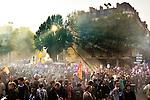 Manifestation contre la réforme des retraites. Montparnesse à Bastille. Mardi 12 octobre 2010. Photo Benjamin Géminel.
