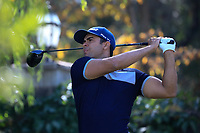 Dimitrios Papadatos (AUS) during the third round of the Kazakhstan Open presented by ERG played at Zhailjau Golf Resort, Almaty, Kazakhstan. 15/09/2018<br /> Picture: Golffile | Phil Inglis<br /> <br /> All photo usage must carry mandatory copyright credit (&copy; Golffile | Phil Inglis)