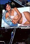 Lingerie billboard, Sunset Strip, 1981