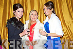 Cora Kelliher, Carol Butler and Michelle Culloty pictured at the charity Ball at the Ballygarry house hotel on New Years eve.