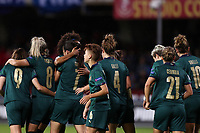 Daniela Sabatino of Italy celebrates with team mates after scoring a goal<br /> Benevento 08-11-2019 Stadio Ciro Vigorito <br /> Football UEFA Women's EURO 2021 <br /> Qualifying round - Group B <br /> Italy - Georgia<br /> Photo Cesare Purini / Insidefoto