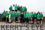 The Green Army from Cromane Rowing Club at the Portmagee Regatta on Sunday in Portmagee.