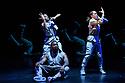 Boy Blue present REDD, directed by Kenrick 'H20' Sandy, choreographed by Kenrick 'H20' Sandy & Michael 'Mikey J' Asante, in the Barbican Theatre. The dancers are: Kenrick 'H20' Sandy MBE, Nicey Belgrave, Tanaka Bingwa, Mikiel Donovan, Shanelle 'Tali' Fergus, Emma Houston, Ajani Johnson-Goffe, Kayla Lomas Kirton, Kelsey Miller.