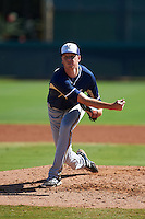 Milwaukee Brewers pitcher Kaleb Earls (78) during an instructional league game against the Los Angeles Dodgers on October 13, 2015 at Cameblack Ranch in Glendale, Arizona.  (Mike Janes/Four Seam Images)