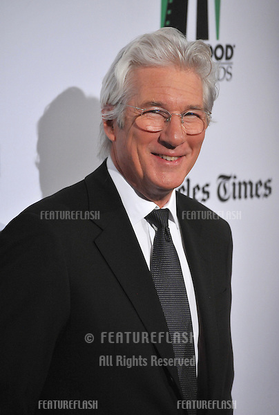 Richard Gere at the 16th Annual Hollywood Film Awards at the Beverly Hilton Hotel..October 22, 2012  Beverly Hills, CA.Picture: Paul Smith / Featureflash