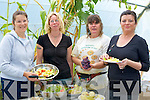 ORGANIC: Opening day at the Shanakill/Rahoonane Community Organic Garden  on Sunday sampeling some of the organic food L-r: Bridget Murphy, Rachel Budd, Christine Best and Jillian Warton...