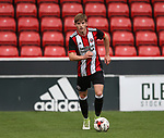 Rhys Norrington-Davies of Sheffield Utd during the U23 Professional Development League Two match at Bramall Lane Stadium, Sheffield. Picture date 18th August 2017. Picture credit should read: Simon Bellis/Sportimage