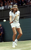 Wimbledon Championships London England 01/07/1980<br />Bjorn Borg<br />Photo Roger Parker Fotosports International