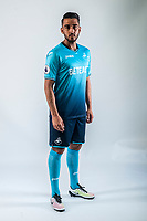 Friday  15 July 2016<br />Pictured: Neil Taylor<br />Re: Swansea City FC  Joma Kit photographs for the 2016-2017 season