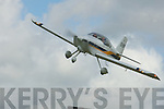 The An RV6 Plane given a display in arebatic at Ardfert Airfield on Sunday.