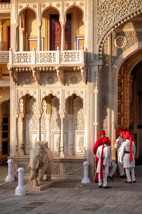 Built between 1729 and 1732, this palace complex lies in the heart of Jaipur city.  It is the residence of the Jaipur Royal Family.