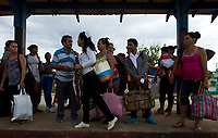 TRINIDAD, CUBA - MAY 10: Cuban passengers wait a train at Trinidad train station to go Iznaga on May 10, 2018. in Cuba. Ferrocarriles de Cuba, is one of the oldest railroad around world, having opened its first route in 1837 with at least 17-mile long. Now the railway probably could cover more than 2,600 miles along the Island. ((Photo by Eliana Aponte/VIEWpress)