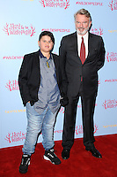 Julian Dennison and Sam Neill<br /> at the &quot;Hunt for the Wilder People&quot; premiere, Picturehouse Central, London.<br /> <br /> <br /> &copy;Ash Knotek  D3153  13/09/2016