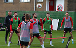 Kieron Freeman of Sheffield Utd during the Sheffield Utd training session at the Shirecliffe Training Complex , Sheffield. Picture date: September 29th, 2016. Pic Simon Bellis/Sportimage