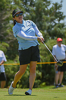 Jane Park (USA) watches her tee shot on 3 during round 2 of  the Volunteers of America LPGA Texas Classic, at the Old American Golf Club in The Colony, Texas, USA. 5/6/2018.<br /> Picture: Golffile | Ken Murray<br /> <br /> <br /> All photo usage must carry mandatory copyright credit (&copy; Golffile | Ken Murray)