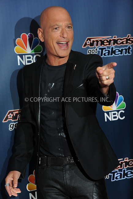 WWW.ACEPIXS.COM<br /> July 29, 2014 New York City<br /> <br /> Howie Mandel attending the 'America's Got Talent' red carpet arrivals at Radio City Music Hall in New York City on July 29, 2014.<br /> <br /> By Line: Kristin Callahan/ACE Pictures<br /> ACE Pictures, Inc.<br /> tel: 646 769 0430<br /> Email: info@acepixs.com<br /> www.acepixs.com<br /> Copyright:<br /> Kristin Callahan/ACE Pictures