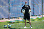 Getafe's goalkeeping coach Javier Barbero during training session. May 25,2020.(ALTERPHOTOS/Acero)