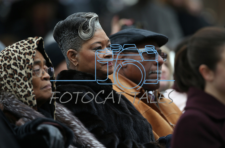 Hundreds gather to see Nevada Gov. Steve Sisolak take the oath of office in a ceremony at the Capitol, in Carson City, Nev., on Monday, Jan. 7, 2019.<br /> Photo by Cathleen Allison/Nevada Momentum
