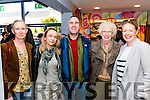 l-r Ciara Fahy, Agata Szczotka, Michael O'Sullivan, Joan O'Sullivan and Tracie Ferris all from Killarney pictured at the final screening day at Kerry Film Festival in the Killarney Cinema last Sunday.