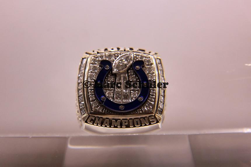 Super Bowl Ringe der einzelnen Siegerteams: XLI Indianapolis Colts 2006