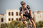Team Sunweb arrive at sign on before the start of Stage 4 of the 2018 Tour of Oman running 117.5km from Yiti (Al Sifah) to Ministry of Tourism. 16th February 2018.<br /> Picture: ASO/Muscat Municipality/Kare Dehlie Thorstad   Cyclefile<br /> <br /> <br /> All photos usage must carry mandatory copyright credit (&copy; Cyclefile   ASO/Muscat Municipality/Kare Dehlie Thorstad)