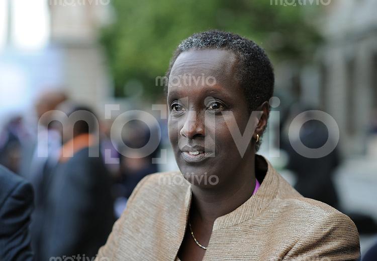 Fussball International  62. FIFA  Kongress in Budapest 2012    24.05.2012 Lydia NSEKERA (Burundi) ist die erste Frau im FIFA-Exekutivkomitee in der 108 jaehrigen Geschicht der Weltfussballverbandes