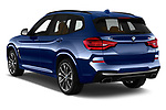 Car pictures of rear three quarter view of a 2018 BMW X3 base 5 Door SUV angular rear