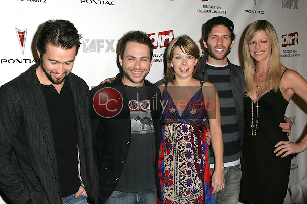 The Cast of &quot;It's Always Sunny in Philadelphia&quot;<br />at the premiere screening of the FX original drama series &quot;Dirt&quot;. Paramount Theatre, Los Angeles, CA. 12-09-06<br />Dave Edwards/DailyCeleb.com 818-249-4998