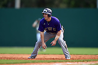 Kentucky Wesleyan Panthers outfielder Seth Sharp (07) during a game against Slippery Rock University on March 9, 2015 at Jack Russell Stadium in Clearwater, Florida.  Kentucky Wesleyan defeated Slippery Rock 5-4.  (Mike Janes/Four Seam Images)