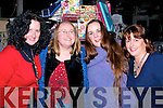 MUSIC: Enjoying the music in The Ballyseedy Garden Centre on Tuesday night to mark Womens Christmas were l-r: Una Flyn (Miltown), Claire O'Connor (Tralee), Elly McGregor, and Riona Mac Monagle (Killarney0.......
