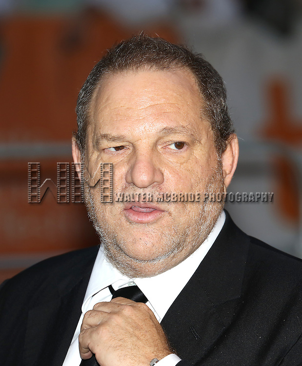 "Harvey Weinstein attending the 2013 Tiff Film Festival Gala Red Carpet Premiere for ""One Chance""  at the Winter Garden Theatre on September 9, 2013 in Toronto, Canada."