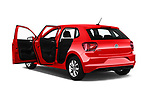 Car images close up view of a 2018 Volkswagen Polo High Line 5 Door Hatchback doors