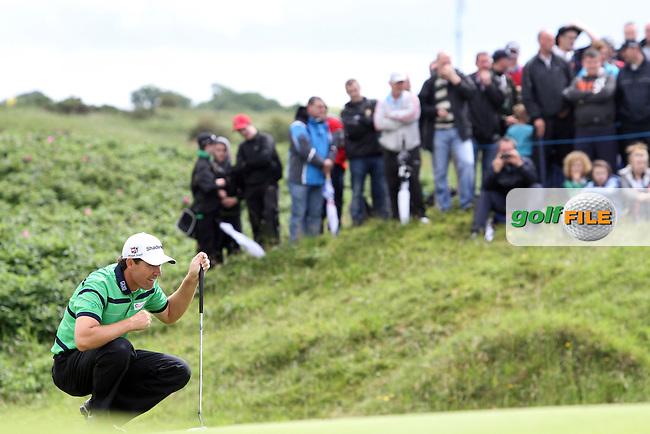 Padraig Harrington (IRL) on the 12th on Day 2 of the 2012 Irish Open at Royal Portrush Golf Club, Portrush, Co.Antrim, 29/6/12...(Photo Jenny Matthews/www.golffile.ie)