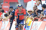 Heinrich Haussler (AUS) Bahrain-Merida crosses the finish line at the end of Stage 4 of La Vuelta 2019 running 175.5km from Cullera to El Puig, Spain. 27th August 2019.<br /> Picture: Eoin Clarke | Cyclefile<br /> <br /> All photos usage must carry mandatory copyright credit (© Cyclefile | Eoin Clarke)