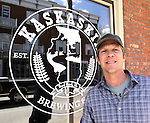 Lou Lenz, brewmaster and owner of the Kaskaskia Brewing Company in Red Bud.