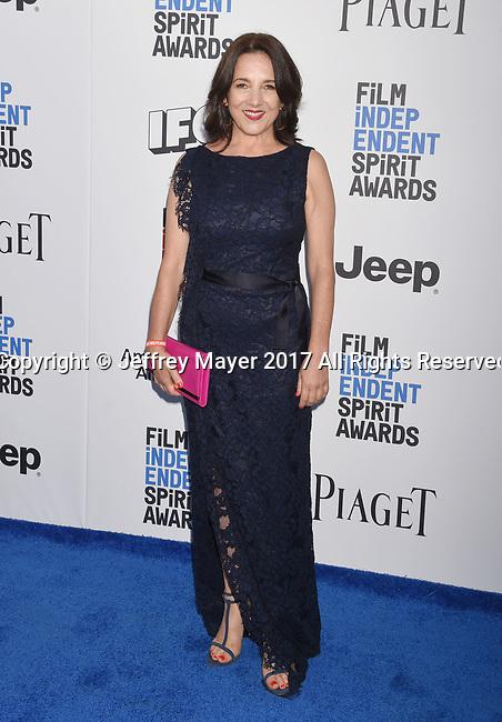 SANTA MONICA, CA - FEBRUARY 25: Actress Paulina Garcia attends the 2017 Film Independent Spirit Awards at the Santa Monica Pier on February 25, 2017 in Santa Monica, California.