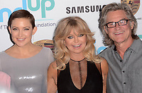 BEVERLY HILLS, CA - NOVEMBER 03: Kate Hudson, Goldie Hawn, Kurt Russell at Goldie's Love In For Kids at Ron Burkle's Green Acres Estate on November 3, 2017 in Beverly Hills, California. Credit: David Edwards/MediaPunch