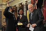 Illinois Senator Roland Burris Swearing In Ceremony (USA)