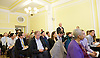 Ken Clarke speaking at &lsquo;Shrinking Pains - <br /> The size and functions of the state over the parliament and beyond.'<br /> Resolution Foundation event at Mary Sumner House, London, Great Britain <br /> 10th November 2015 <br /> <br /> Q &amp; A <br /> <br /> Photograph by Elliott Franks <br /> <br /> <br /> Image licensed to Elliott Franks Photography Services