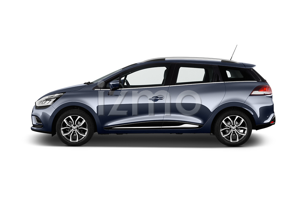 Car Driver side profile view of a 2017 Renault Clio Intnse 5 Door Wagon Side View