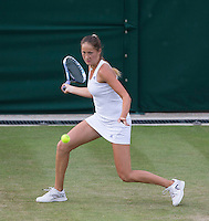 BOJANA JOVANOVSKI (SRB)<br /> <br /> The Championships Wimbledon 2014 - The All England Lawn Tennis Club -  London - UK -  ATP - ITF - WTA-2014  - Grand Slam - Great Britain -  25th June 2014. <br /> <br /> © Tennis Photo Network