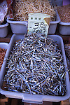 Fish for sale in a Chinatown market in NYC, 2005
